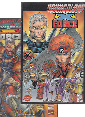 Youngblood / Cable ( Completa  2  Numeros )  Planeta.