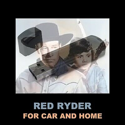 Red Ryder. Enjoy 61 Old Time Radio Western Shows In Your Car Or Home!