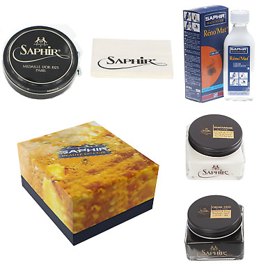 Saphir Luxury Shoe Care Gift Box Reno'Mat  - Available in 8 colours