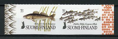 Finland 2018 MNH Nordic Fish Fishes Norden 2v S/A Set Stamps