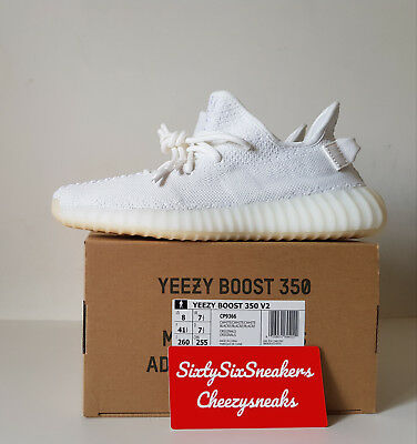 068080a921dc1 ADIDAS YEEZY BOOST 350 V2 Cream White 8US 7
