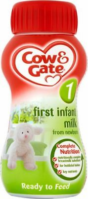 Cow Gate 1 First Infant Milk From Newborn Starter Pack 6 X 70ml