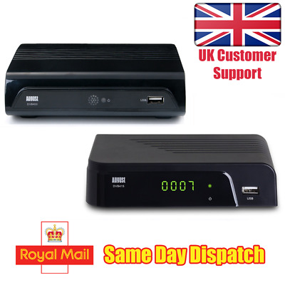 Freeview HD Recorder Box - August DVB400 / DVB415 - Watch and Record 1080p TV