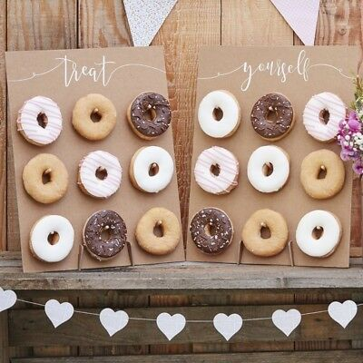 Ginger Ray Donut Doughnut Party Wedding Favour Wall Display Treat Stand CW-209