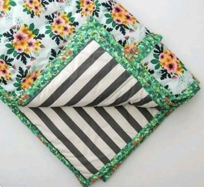 NEW Matilda Jane Joanna Gaines Magnolia Market Flower Bed Comforter Twin Size