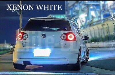 VW GOLF MK4 MK5 CADDY T5 LED Xenon White Number Plate License Light bulbs CANBUS