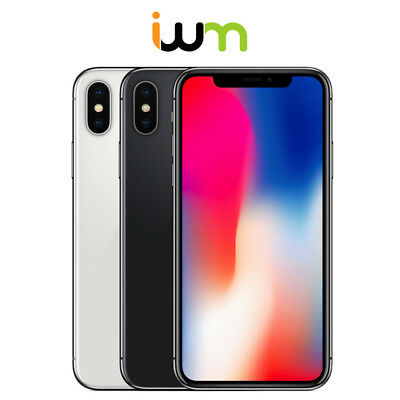 Apple iPhone X 64GB / 256GB - Space Gray / Silver
