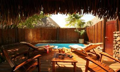 Manava Resort Moorea  Vacation Package 2 adults 5 nights with Daily Breakfast