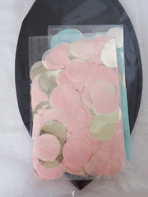 """Gender Reveal Balloon 2 Pack  - 36"""" XL: Pink Rose Gold & Blue Silver Confetti"""