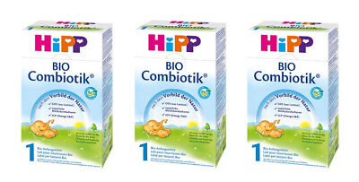 HiPP Organic Stage 1 Combiotic First Infant Milk Formula 600g (one box)