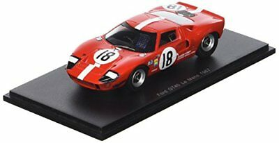 Spark Ford GT 40 – le Mans 1967 – Scala 1/43, s5178, Rosso