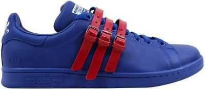 303781ee4923 ... new zealand adidas raf simons stan smith strap royal blue red aq2723  mens sz 13 b72bd