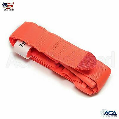 Tourniquet Rapid One Hand Application Emergency or Outdoor First Aid Kit Orange