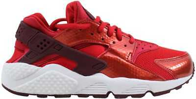92a7046b38161 Nike Air Huarache Run University Red Night Maroon-White 634835-605 Womens SZ