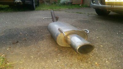 Rover 200/25/Streetwise MG ZR Stainless back box