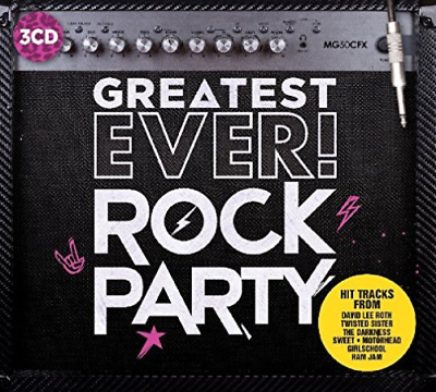 Various Artists-Greatest Ever Rock Party  (UK IMPORT)  CD NEW