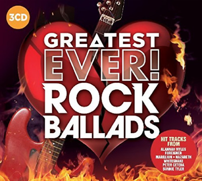 Various Artists-Greatest Ever Rock Ballads  (UK IMPORT)  CD NEW