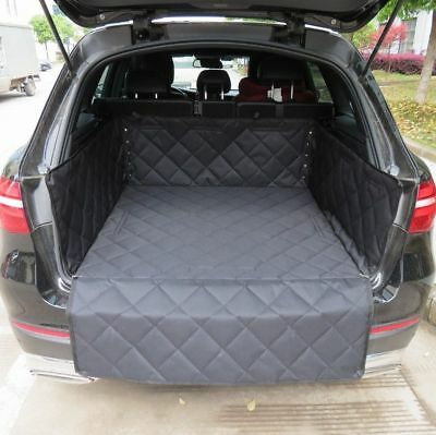 Quilted Pet Dog Heavy Duty Boot Liner Protector For FIAT 500 2008 ON