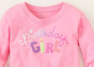New Amy Coe 6//9 Months Black Long Sleeve Sequin Forever in Hot Pink T-Shirt
