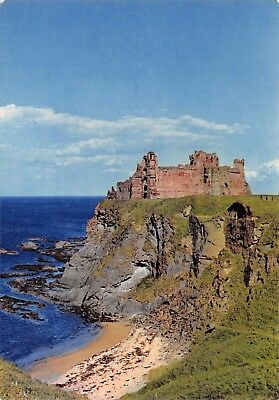 Vintage Postcard Tantallon Castle near North Berwick #T