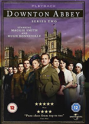 DOWNTON ABBEY ITV TV Series - 2 Complete Season 2 Collection +Extras New UK DVD