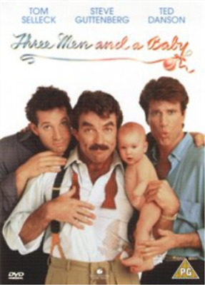 Paul Guilfoyle, Tom Selleck-Three Men and a Baby  (UK IMPORT)  DVD NEW