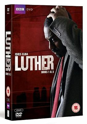Luther -Series 1-2 Complete Collection 2011 Brand New and Sealed UK Region 2 DVD