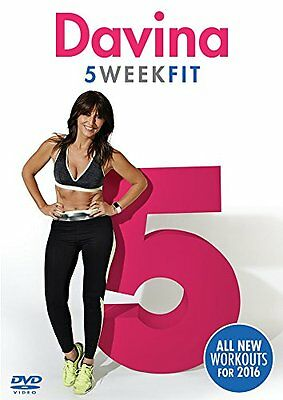 Davina 5 Week Fit Wieight Loss Workout Fitness Exercise Training 2016 NEW UK DVD