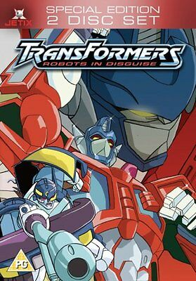 Transformers - the Movie Robots in Disguise Brand New and Sealed UK Region 2 DVD