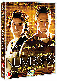 NUMB3RS - Series 4 Complete 4th Fourth Season Brand New Sealed Region 2 UK DVD
