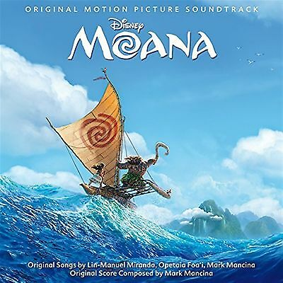 Moana - Various artists (Original Motion Picture Soundtrack) Audio CD BRAND NEW