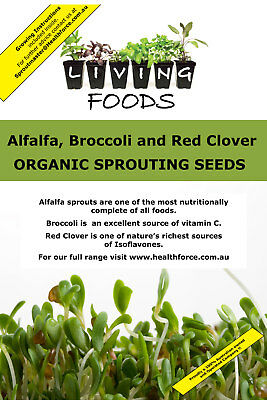 ABC Organic Sprouting Seeds