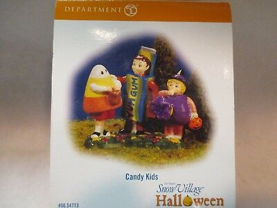 dept 56 snow village halloween candy kids 56 54713