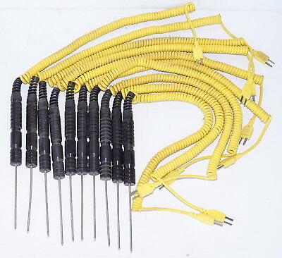 Thermocouple Probe Set   K-Type  100mm  - *10 Probes*