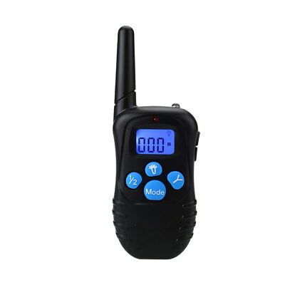 8F6A714 Rechargeable Waterproof Electronic Remote Control 2 Dog Training Collar
