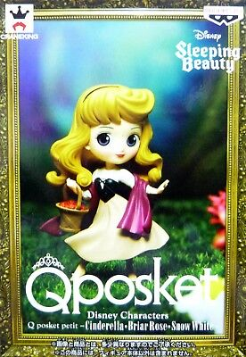Q posket petit Disney Characters Briar Rose / Sleeping Beauty / 100% Authentic!