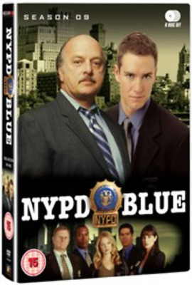 Dennis Franz, Gordon Clapp-NYPD Blue: Season 9  (UK IMPORT)  DVD NEW