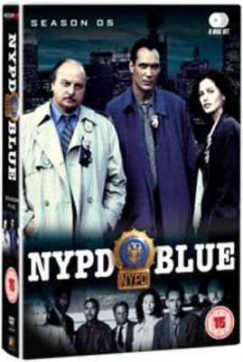 Dennis Franz, Gordon Clapp-NYPD Blue: Season 5  (UK IMPORT)  DVD NEW
