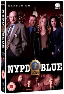 Dennis Franz, Gordon Clapp-NYPD Blue: Season 8  (UK IMPORT)  DVD NEW