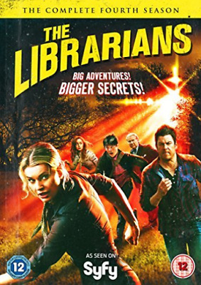 TV - DVD-The Librarians Complete Season 4  (UK IMPORT)  DVD NEW