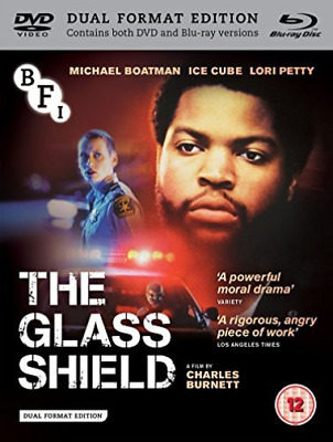 The Glass Shield [Dual Format]  (UK IMPORT)  DVD NEW