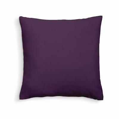 Coussin déhoussable 100% coton 40x40cm Deep Purple