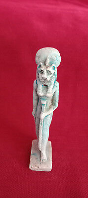Sekhmet Egyptian Statue Figurine Egypt Made Hand Ancient Vintage Carved Lioness