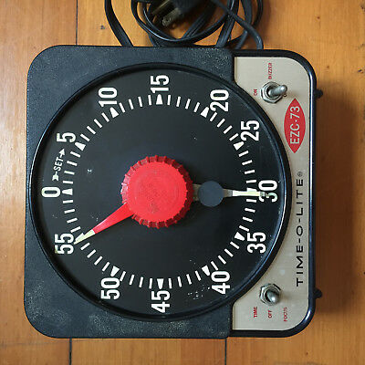 Vintage Time-O-Lite EZC-73 Photography Dark Room Timer used with kodak products