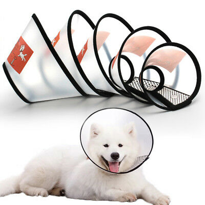 Elizabeth Collar Pet Collar Protection Sleeve Circle for Dogs and Cats All Size