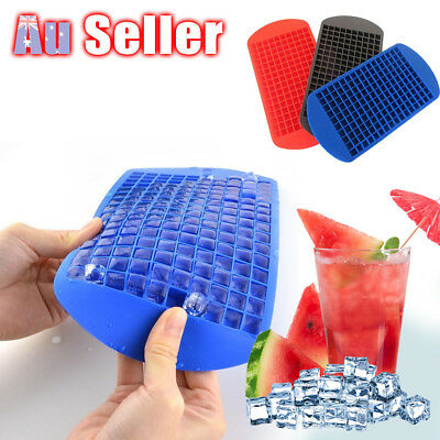 160 Grids DIY Ice Cube Tray Mini Small Frozen Cubes Silicone Ice Maker Mold