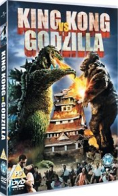 Tadao Takashima, Kenji Sahara-King Kong vs Godzilla  (UK IMPORT)  DVD NEW