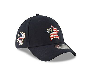 ec91035be12970 ... clearance houston astros new era 2018 stars stripes 4th of july  39thirty flex hat navy 0a8e2