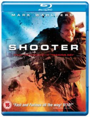 Mark Wahlberg, Danny Glover-Shooter  (UK IMPORT)  Blu-ray NEW