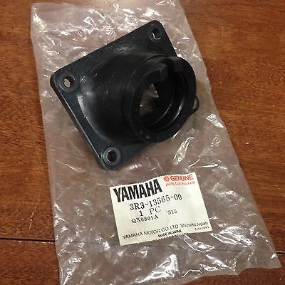 Yamaha 1980 1981 Yz125 It175 Nos Carburetor Joint Intake Manifold 3R3-13565